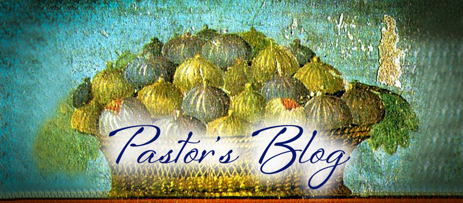 Church Website - Pastors Blog